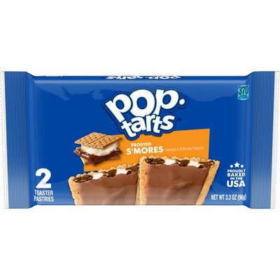Kellogg's Pop-Tarts Toaster Pastries, Breakfast Foods, Frosted S'mores