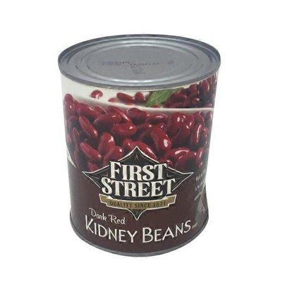 First Street Dark Red Kidney Beans