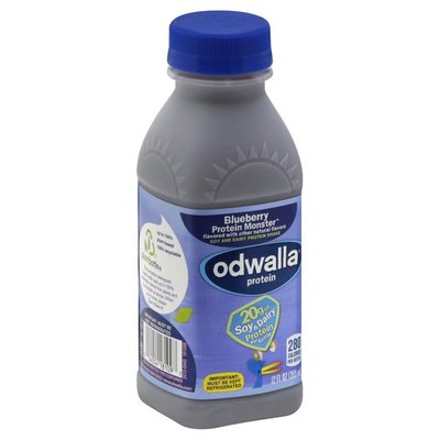 Odwalla Protein Shake, Soy and Dairy, Blueberry