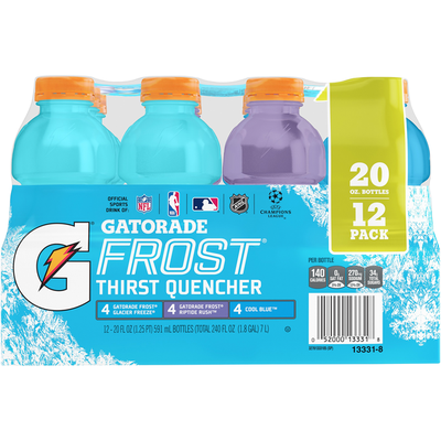 Gatorade Perform G Series Sports Drink Variety Pack, Cool Blue/Frost Riptide Rush/Frost Glacier Freeze
