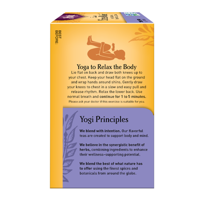 Yogi Tea Herbal Tea, Kava Stress Relief Tea, Eases Tension and Promotes Relaxation