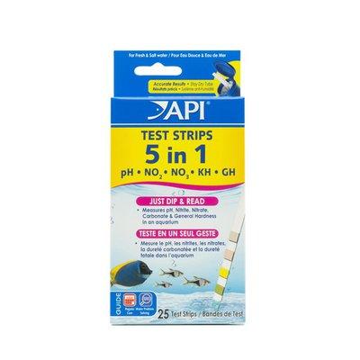 """Api 5"""" 1 Aquarium Test Strips"""