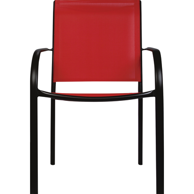 Sunjoy Chair, Stacking, Red