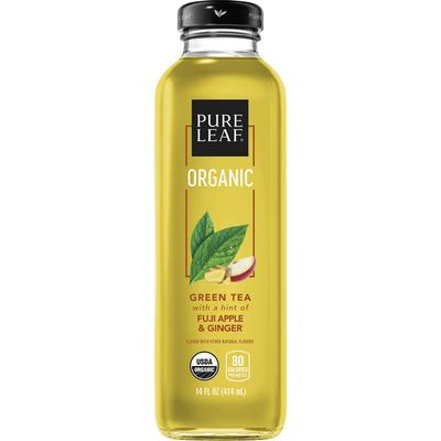 Pure Leaf Tea House Organic Green Tea With Fuji Apple & Ginger