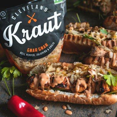 Cleveland Kitchen Kraut Gnar Gnar Spicy Raw Sauerkraut