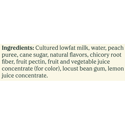 Chobani Yogurt Drink, Greek, Low-Fat, Peach