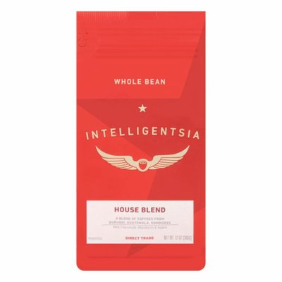 Intelligentsia Coffee Direct Trade House Blend Medium Roast Whole Bean Coffee