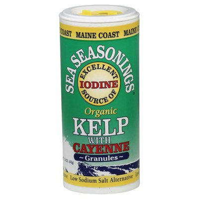 Maine Coast Organic Kelp, with Cayenne, Granules