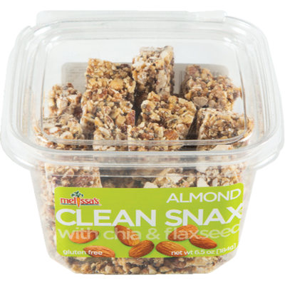 Melissa's Clean Snax Almond Crunch, with Chia & Flaxseed
