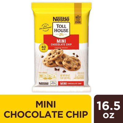 Toll House Nestle  Mini Chocolate Chip Cookie Dough