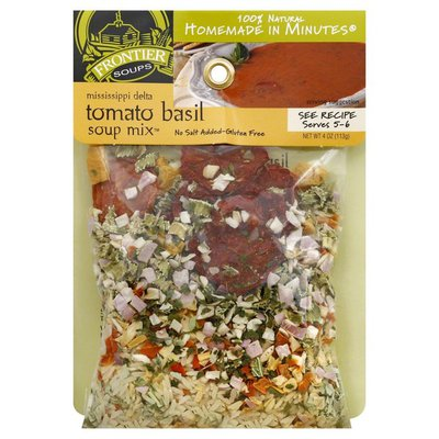 Frontier Soups Soup Mix, Mississippi Delta, Tomato Basil