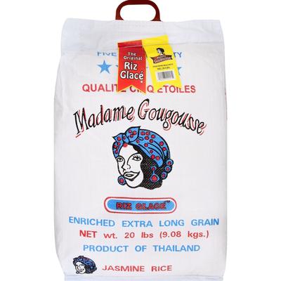 Madame Gougousse Jasmine Rice, Enriched, Extra Long Grain