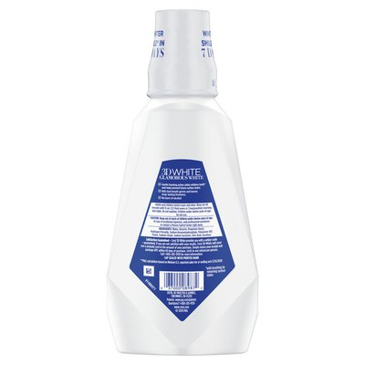 Crest Glamorous White Alcohol Free Multi-Care Whitening Mouthwash