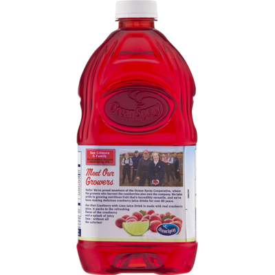 Ocean Spray Cranberry with Lime Juice Drink