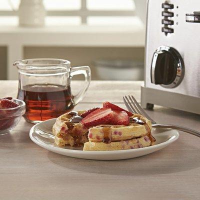 Eggo Frozen Waffles, Frozen Breakfast, Toaster Waffles, Strawberry
