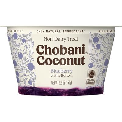 Chobani Non-Dairy Treat, Blueberry on the Bottom