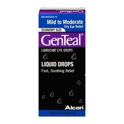 GenTeal Liquid Drops Lubricant Eye Drops Mild to Moderate