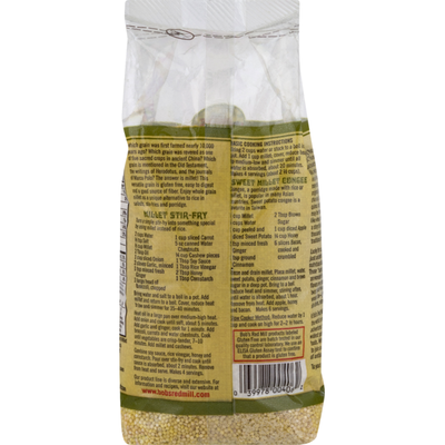 Bob's Red Mill Millet, Whole Grain