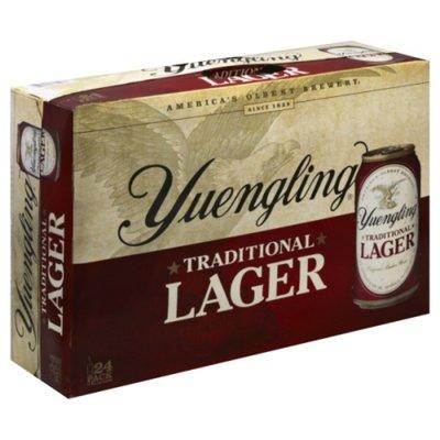 Yuengling Beer, Lager, Original Amber
