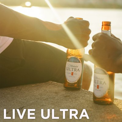 Michelob ULTRA Light Beer Cans