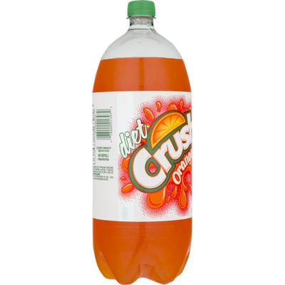 Diet Crush Orange Soda