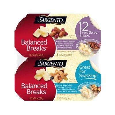 Sargentos Balanced Breaks Natural Sharp White Cheddar Cheese