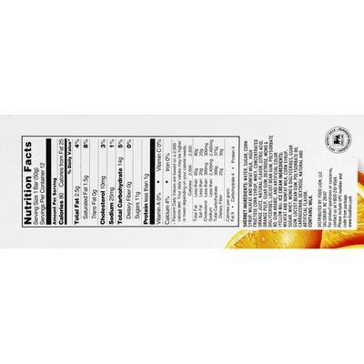 Food Lion Orange Cream Bars