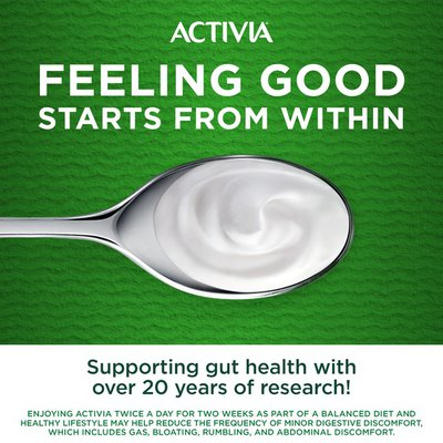 Activia Probiotic Dailies Strawberry & Blueberry Yogurt Drink, Variety Pack