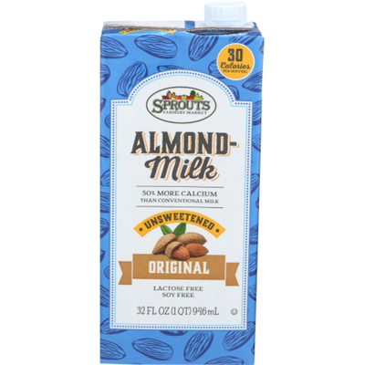 Sprouts Original Unsweetened Almond Milk