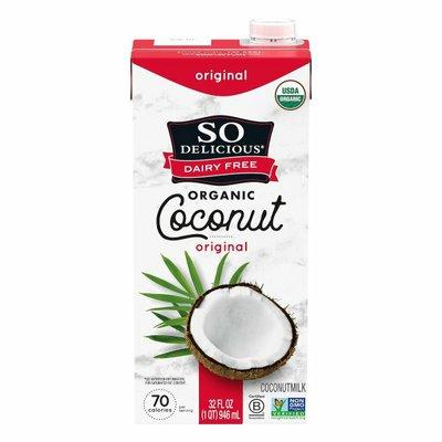 So Delicious Dairy Free Original Organic Coconutmilk