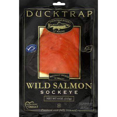 Ducktrap River of Maine Smoked Wild Sockeye Salmon
