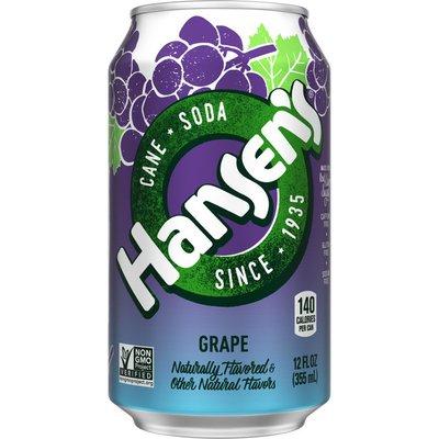 Hansen's Grape Can