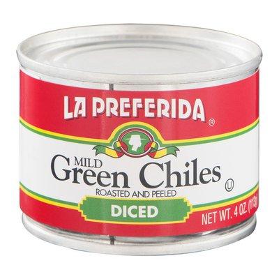La Preferida Green Chiles, Mild