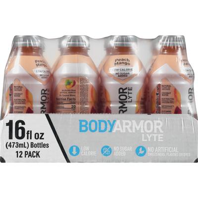 BodyArmor Sports Drink, Peach Mango, 12 Pack