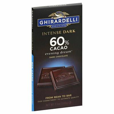 Ghirardelli Dark Chocolate, Intense Dark, 60% Cacao