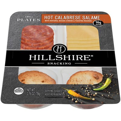 Hillshire Farm Small Plates, Hot Calabrese Salame