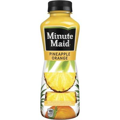 Minute Maid Pineapple Orange Juice Bottle