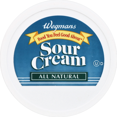 Wegmans Food You Feel Good About Sour Cream
