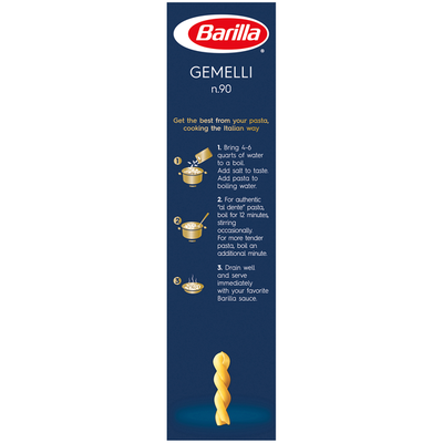 Barilla® Classic Blue Box Pasta Gemelli