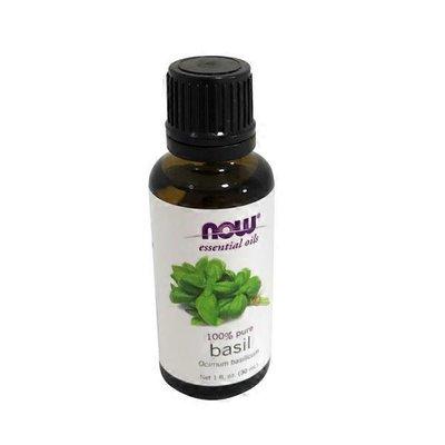 Now essential oils, basil