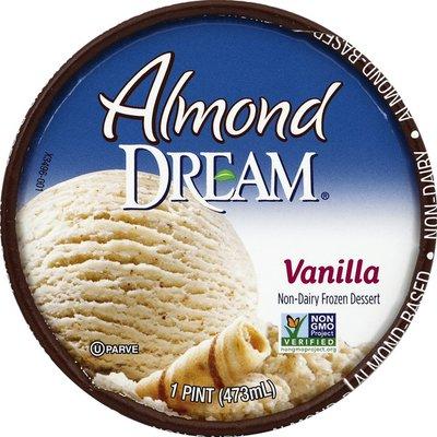 Almond DREAM Ice Cream Vanilla