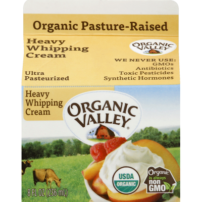 Organic Valley Ultra Pasteurized Organic Heavy Whipping Cream