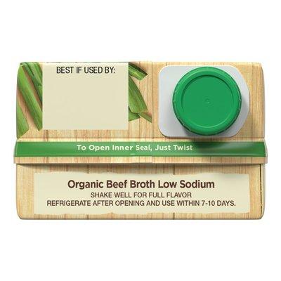 Pacific Organic Low Sodium Beef Broth