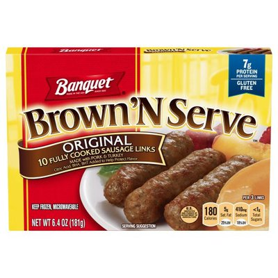 Banquet Brown 'n Serve Original Sausage Links