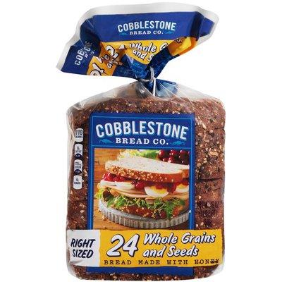 Cobblestone Bread Company 24 Whole Grains and Seeds Bread
