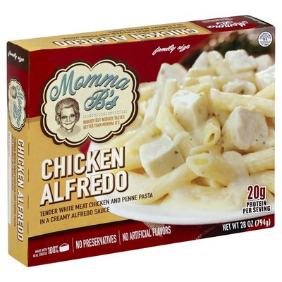 Momma Bs Chicken Alfredo, Family Size