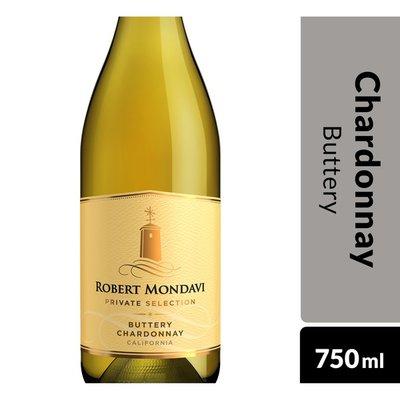 Robert Mondavi Private Selection Buttery Chardonnay White Wine