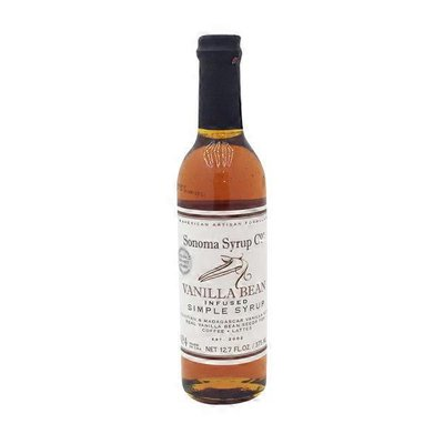 Sonoma Syrup Co Vanilla Bean Infused Simple Syrup