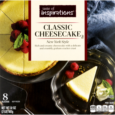 Taste of Inspirations Cheese Cake, Classic, New York Style