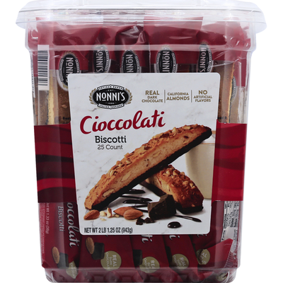 Nonni's Biscotti, Cioccolati